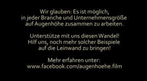 Augenhöhe-Trailer-Schlusstafel